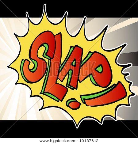 Slap Noise Background