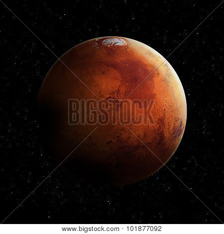 Hight quality Mars image
