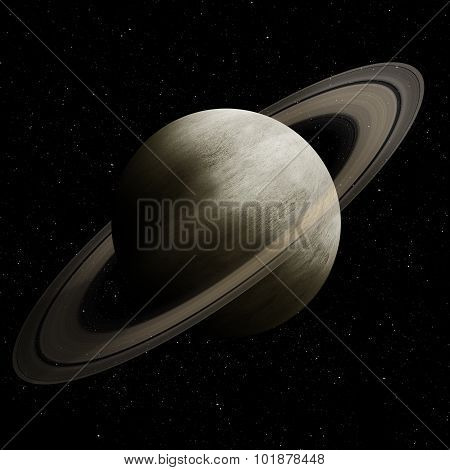 Hight quality Saturn image