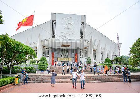 Ho Chi Minh Museum In Hanoi, Vietnam