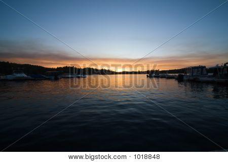 Lake Sunset 5