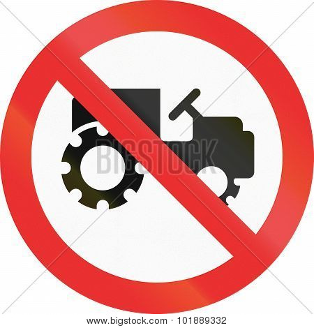 No Tractors In Mexico