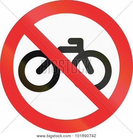 No Bicycles In Mexico