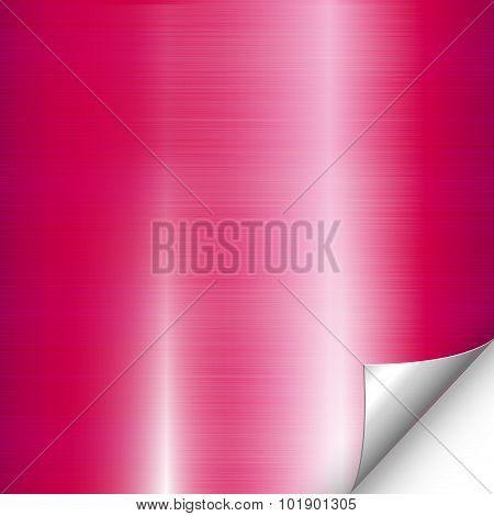 Pink Metal Backdrop Corner