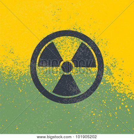 Radioactive Vector Symbol.