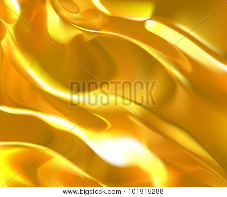 Gold Liquid Texture