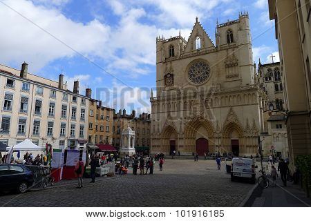 Cathédrale Saint-Jean-Baptiste, Lyon, France