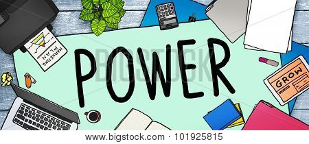 Power Energy Electric Electricity Generator Technology Concept