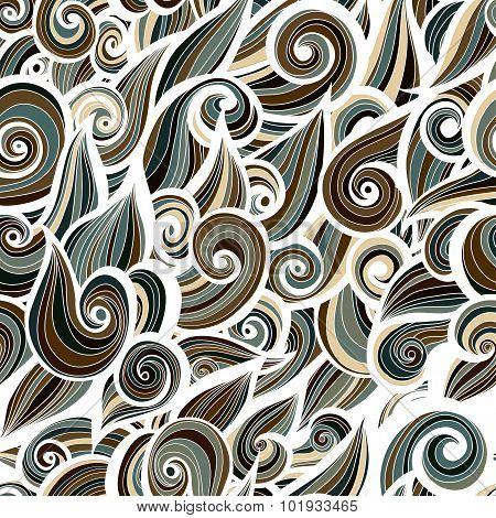 Camouflage military curlypattern  background. Vector illustration, EPS10