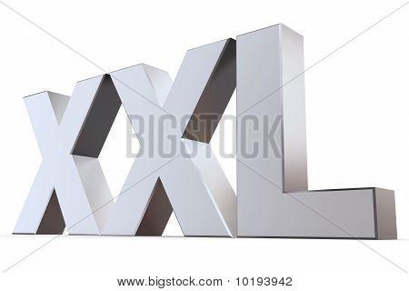 Shiny Letters Xxl
