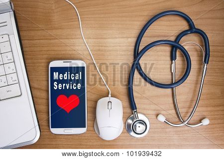 medical applications on the phone