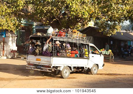 Transport In Bagan, Myanmar