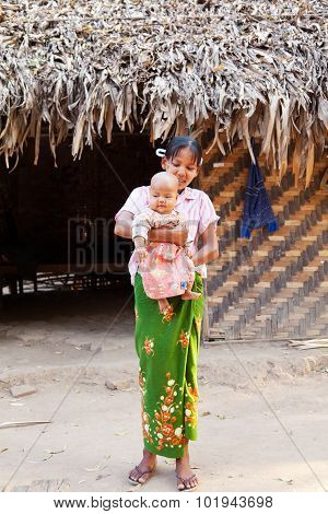 Local People In Myanmar