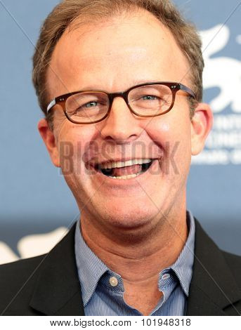 Director Thomas McCarthy  at the photocall for Sportlight  at the 2015 Venice Film Festival. September 3, 2015  Venice, Italy