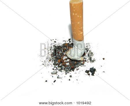 Trozo de cigarrillos