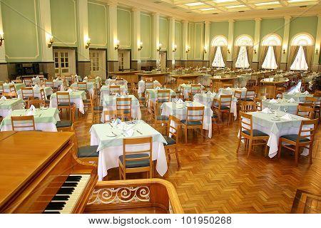 vintage hall