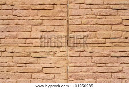 Close Up Of A Brick-wall, Modern Stone Texture Background