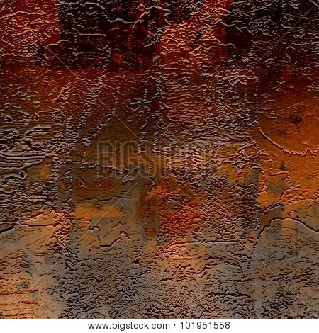 abstract  red-brown background imitating relief, old wall