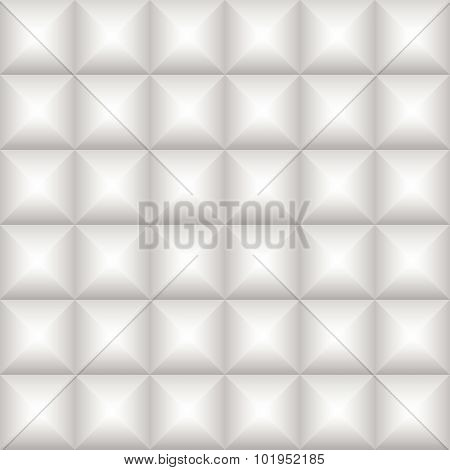Abstract Gray Square Embossed Shadow Background, Illustration Vector