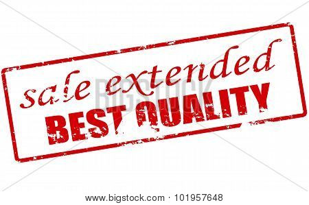 Sale Extended Best Quality