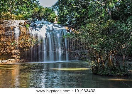 Prenn Is One Of The Waterfalls Of Da Lat