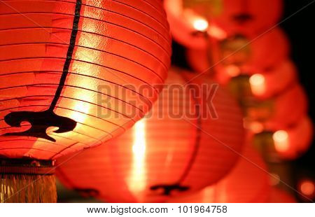 Colorful lanterns ( Tang Lung ) - Chinese New Year decorations