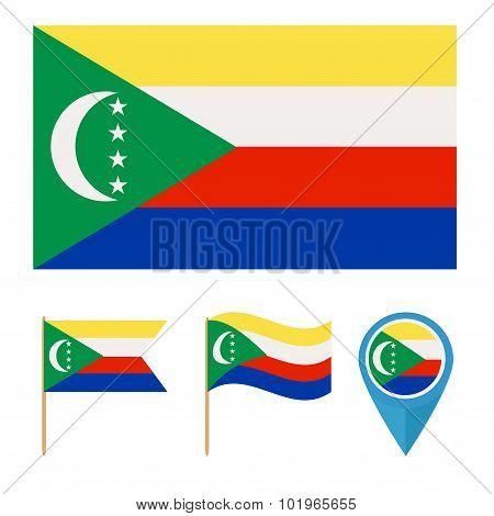 Comoros, Country Flag