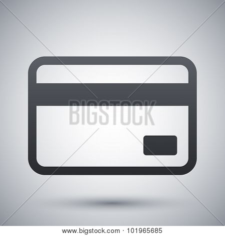 Credit Card Icon, Vector