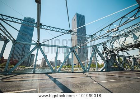 Tianjin Movable Bridge Closeup