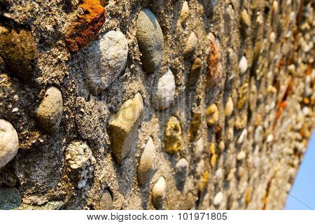 Wall Milan  In Italy Old   Church Concrete Wall Sky
