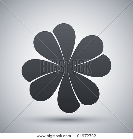 Vector Four-leaf Clover Icon