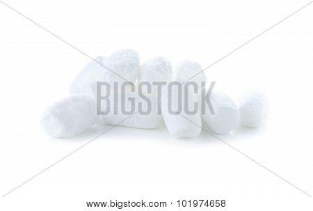 White Foam Shockproof On White Background