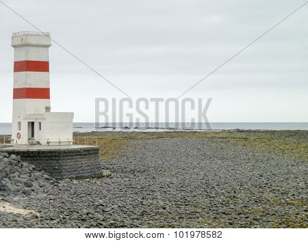 Beacon In Iceland