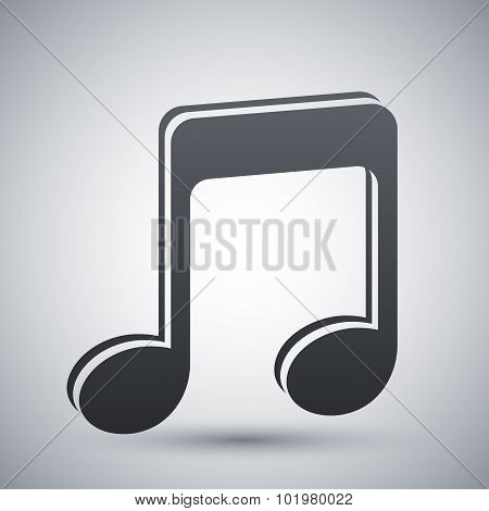 Vector Music Note Icon