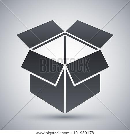 Vector Open Box Icon