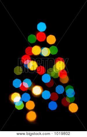 Lichter-Weihnachtsbaum
