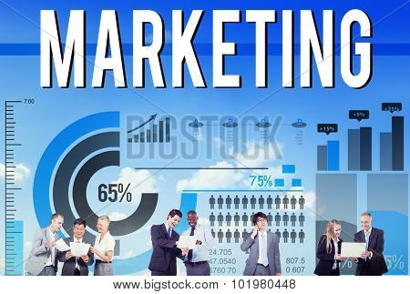 Marketing Advertising Promotion Strategy Commercial Concept