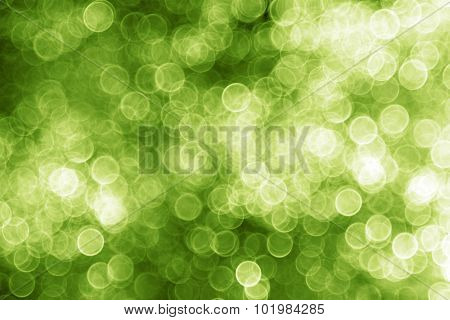 Green Christmas lights