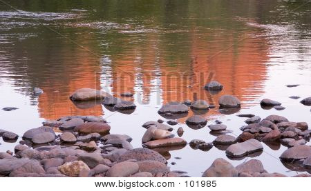 Red Rock Reflection