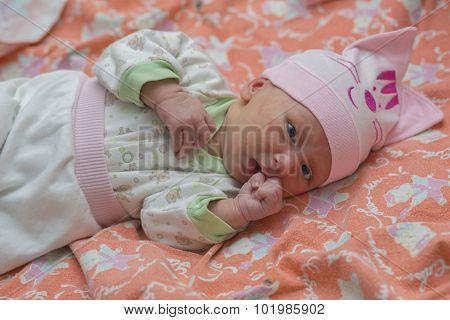 Hormonal rash in a newborn