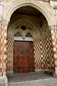 Cathedral Door Asti, Italy