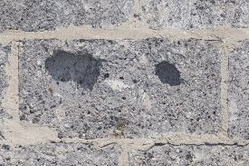 picture of mortar-joint  - cinderblock wall background - JPG