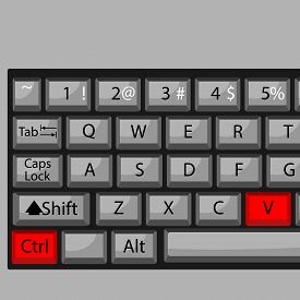 foto of combinations  - Combination of buttons to paste - JPG