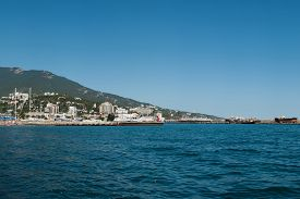 stock photo of crimea  - YALTA CRIMEA RUSSIA  - JPG