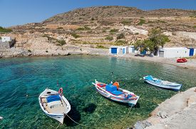 pic of greek-island  - Kimolos is a Greek island in the Aegean Sea - JPG