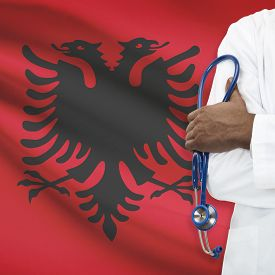 foto of albania  - Concept of national healthcare system series  - JPG