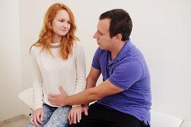 foto of groping  - husband pregnant wife groped in doctor - JPG