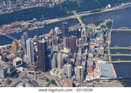 Pittsburgh Pennsylvania Aerial