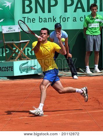 David Guez (fra) At Roland Garros 2011