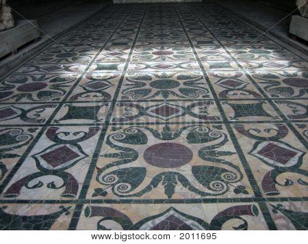 Original Senate Floor In Rome